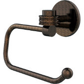 Satellite Orbit One Collection Euro Style Toilet Tissue Holder with Dotted Accents, Venetian Bronze