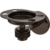 Satellite Orbit One Tumbler and Toothbrush Holder with Dotted Accents, Venetian Bronze