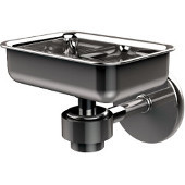 Satellite Orbit One Collection Soap Dish, Standard Finish, Polished Chrome