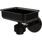 Satellite Orbit One Wall Mounted Soap Dish with Dotted Accents, Oil Rubbed Bronze