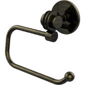 Satellite Orbit Two Collection Euro Style Toilet Tissue Holder with Dotted Accents, Antique Brass
