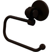 Satellite Orbit Two Collection Euro Style Toilet Tissue Holder with Groovy Accents, Antique Bronze
