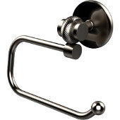 Satellite Orbit Two Collection Euro Style Toilet Tissue Holder with Twisted Accents, Satin Nickel