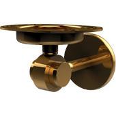 Satellite Orbit Two Collection Tumbler/Toothbrush Holder, Standard Finish, Polished Brass