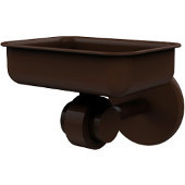 Satellite Orbit Two Collection Soap Dish with Glass Liner, Premium Finish, Rustic Bronze