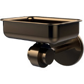 Satellite Orbit Two Collection Soap Dish with Glass Liner, Premium Finish, Brushed Bronze