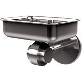 Satellite Orbit Two Collection Soap Dish with Glass Liner, Standard Finish, Polished Chrome