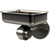 Satellite Orbit Two Collection Soap Dish with Glass Liner, Premium Finish, Polished Nickel