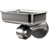 Satellite Orbit Two Collection Soap Dish with Glass Liner, Premium Finish, Satin Chrome