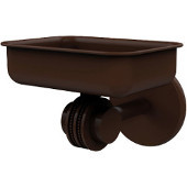 Satellite Orbit Two Collection Wall Mounted Soap Dish with Dotted Accents, Antique Bronze