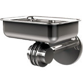 Satellite Orbit Two Collection Wall Mounted Soap Dish with Dotted Accents, Polished Chrome