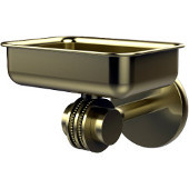 Satellite Orbit Two Collection Wall Mounted Soap Dish with Dotted Accents, Satin Brass