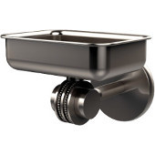 Satellite Orbit Two Collection Wall Mounted Soap Dish with Dotted Accents, Satin Nickel