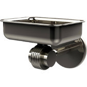 Satellite Orbit Two Collection Wall Mounted Soap Dish with Groovy Accents, Polished Nickel