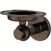 Mercury Collection Tumbler and Toothbrush Holder with Twisted Accents, Venetian Bronze