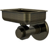 Mercury Collection Wall Mounted Soap Dish, Premium Finish, Antique Brass