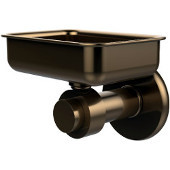 Mercury Collection Wall Mounted Soap Dish, Premium Finish, Brushed Bronze
