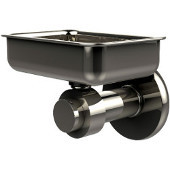 Mercury Collection Wall Mounted Soap Dish, Premium Finish, Polished Nickel