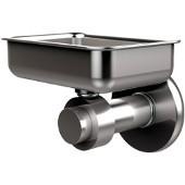 Mercury Collection Wall Mounted Soap Dish, Premium Finish, Satin Chrome