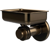 Mercury Collection Wall Mounted Soap Dish with Dotted Accents, Brushed Bronze