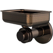 Mercury Collection Wall Mounted Soap Dish with Dotted Accents, Venetian Bronze