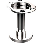 Mercury Vanity Top Collection Vanity Top Tumbler/Toothbrush Holder, Standard Finish, Polished Chrome