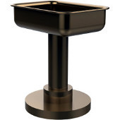 Mercury Collection Soap Dish Freestanding, Premium Finish, Brushed Bronze