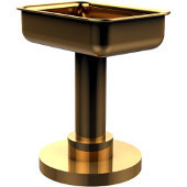Vanity Top Soap Dish, Unlacquered Brass