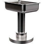 Mercury Collection Soap Dish Freestanding, Premium Finish, Satin Chrome