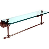 Astor Place Collection 22'' Shelf with Towel Bar, Premium Finish, Polished Nickel