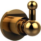 Astor Place Collection Utility Hook, Standard Finish, Polished Brass
