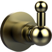 Astor Place Collection Utility Hook, Premium Finish, Satin Brass