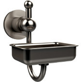 Astor Place Collection Soap Dish w/Glass Dish, Premium Finish, Satin Nickel