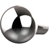 B-10 Series Cabinet Hardware 1'' Diameter Round Cabinet Knob in Polished Chrome (Standard Finish), Available in Multiple Finishes
