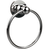 Bolero Collection Towel Ring, Standard Finish, Polished Chrome