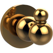 Bolero Collection Robe Hook, Unlacquered Brass