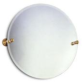 Round Tilt Mirror w/ Beveled Edge, Dottingham, 22'' dia., Premium, Brushed Bronze