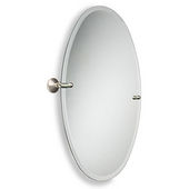Oval Tilt Mirror, Waverly Place, 21''W x 29''H, Premium, Available in Multiple Finishes