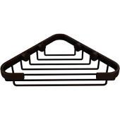 Shower Basket Collection Corner Shower Basket, Premium Finish, Rustic Bronze