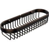 Oval Toiletry Wire Basket, Venetian Bronze