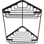 Shower Basket Collection Double Corner Shower Basket, Premium Finish, Oil Rubbed Bronze