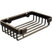 Shower Basket Collection Rectangular Shower Basket, Premium Finish, Brushed Bronze