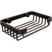 Shower Basket Collection Rectangular Shower Basket, Premium Finish, Venetian Bronze