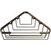 Shower Basket Collection Corner Shower Basket, Premium Finish, Brushed Bronze