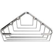 Shower Basket Collection Corner Shower Basket, Standard Finish, Polished Chrome