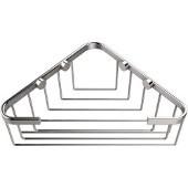 Shower Basket Collection Corner Shower Basket, Premium Finish, Satin Chrome