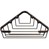 Shower Basket Collection Corner Shower Basket, Premium Finish, Venetian Bronze
