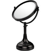 8'' Table Mirror, 3x Magnification, 17-23-1/2'' H, Premium, Available in Multiple Finishes
