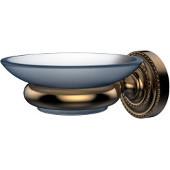 Dottingham Collection Wall Mounted Soap Dish Holder, Premium Finish, Brushed Bronze