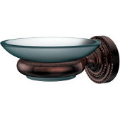 Dottingham Collection Wall Mounted Soap Dish Holder, Premium Finish, Antique Copper